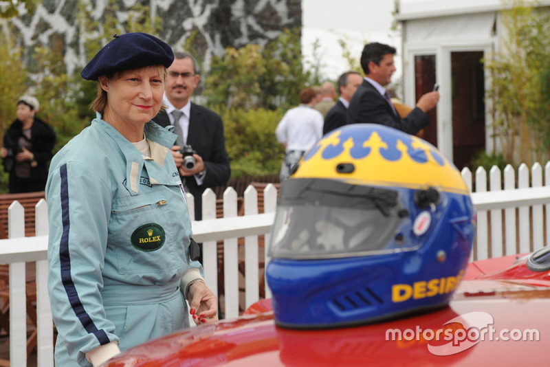 Desire Wilson en el Goodwood Revival 2009