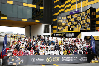 All drivers at Macau