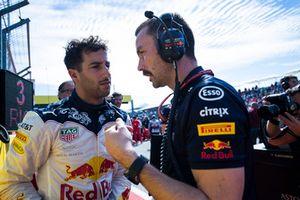 Daniel Ricciardo, Red Bull Racing, on the grid