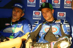 Alex Lowes, Pata Yamaha, Andrew Pitt, jefe de equipo Pata Yamaha