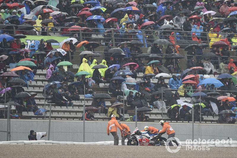 Danilo Petrucci, Pramac Racing (4 kecelakaan)