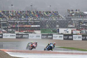 Alex Rins, Team Suzuki MotoGP, sous la pluie