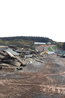 Renovatie tribunes Spa-Francorchamps
