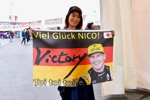 Fan of Nico Hulkenberg, Renault Sport F1 Team
