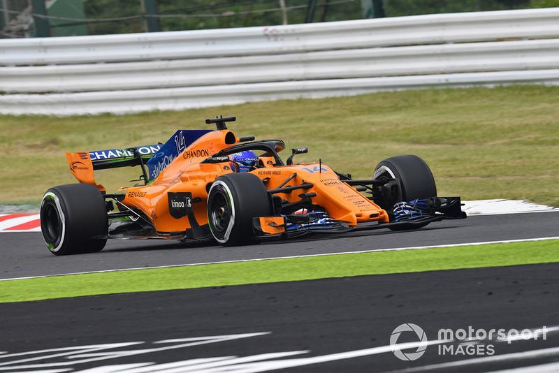 17. Fernando Alonso, McLaren MCL33
