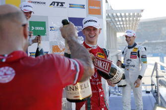 Podium: Mick Schumacher, PREMA Theodore Racing Dallara F317 - Mercedes-Benz