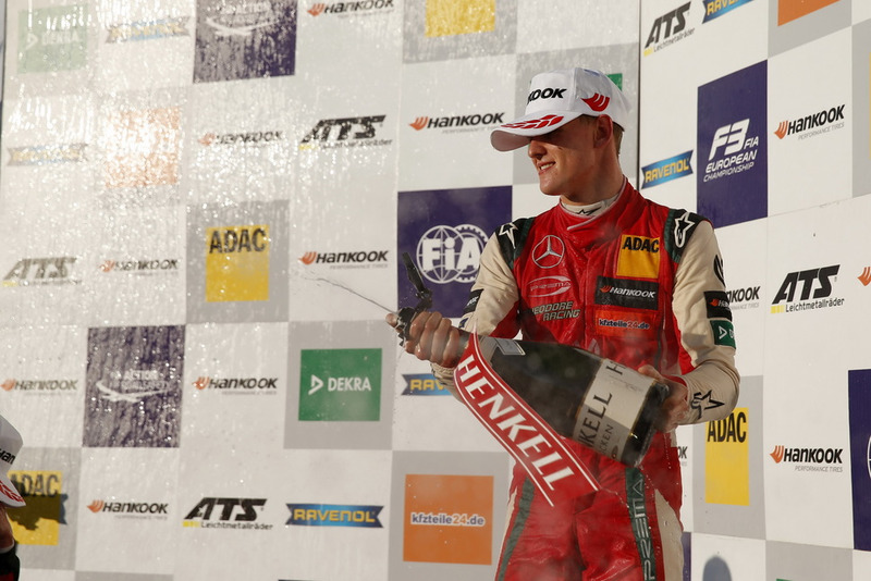 Podium: Mick Schumacher, PREMA Theodore Racing Dallara F317 - Mercedes-Benz