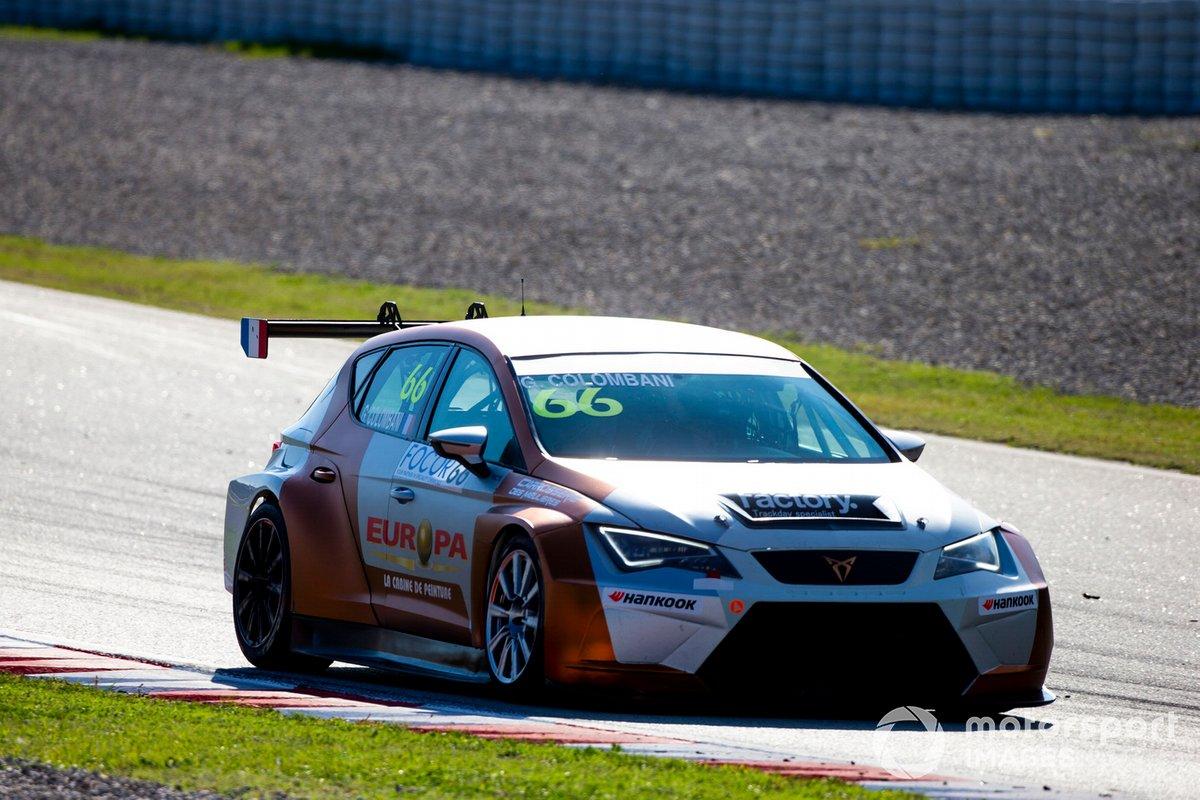 Gilles Colombani, Team Clairet Sport, Cupra TCR