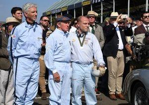 Sir Stirling Moss Tribute Jackie Stewart Damon Hill Moss