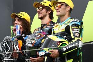 Marco Bezzecchi, Sky Racing Team VR46 Remy Gardner, Red Bull KTM Ajo Jorge Navarro, Speed Up Racing Moto2
