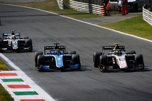 Theo Pourchaire, ART GrPrix, Guanyu Zhou, Uni-Virtuosi Racing, Ralph Boschung, Campos Racing