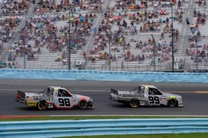 Ben Rhodes, ThorSport Racing, Toyota Tundra Bombardier LearJet 75, Christian Eckes, ThorSport Racing, Toyota Tundra TSPORT/Curb Records