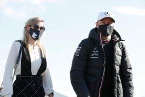 Valtteri Bottas, Mercedes and Tiffany Cromwell