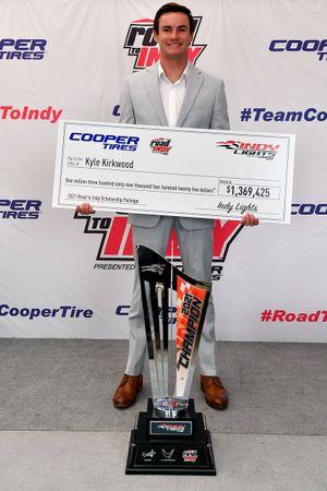 Indy Lights champion Kyle Kirkwood, Andretti Autosport