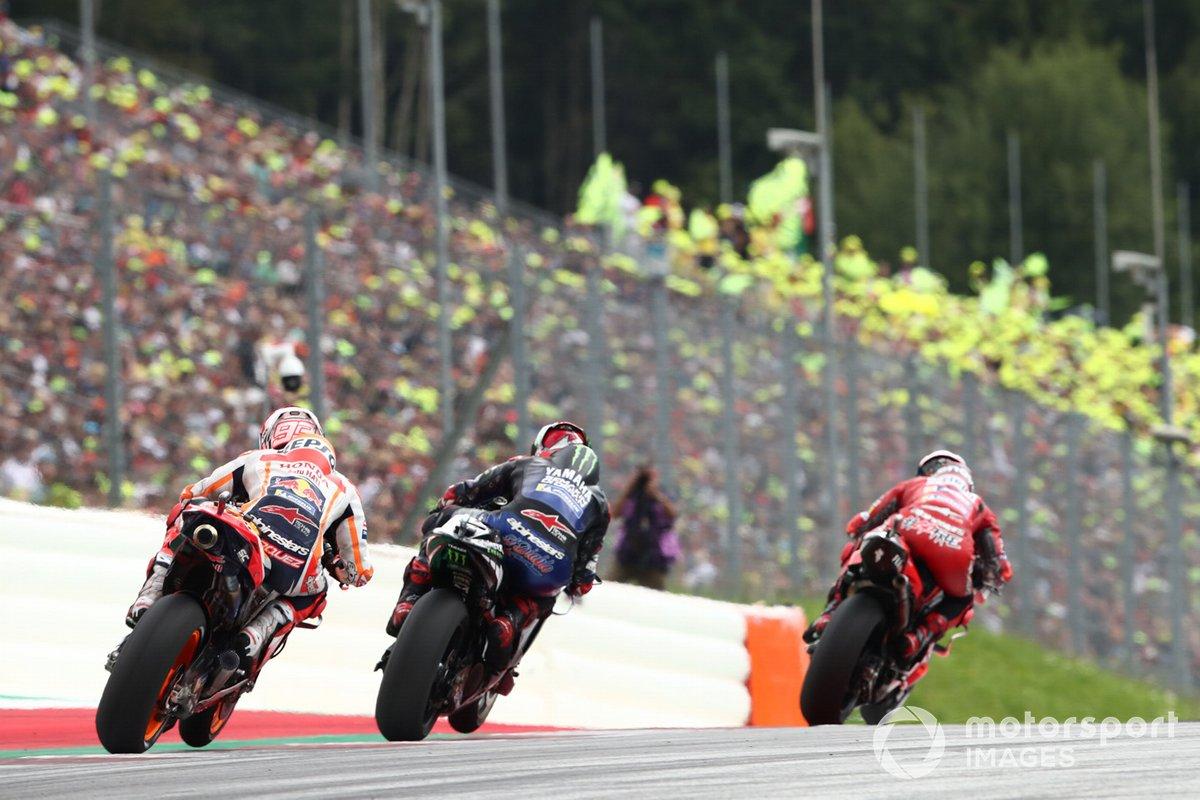 Francesco Bagnaia, Ducati Team, Fabio Quartararo, Yamaha Factory Racing, Marc Marquez, Repsol Honda Team,