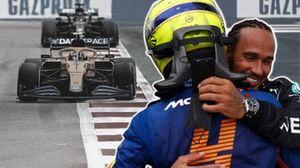 Lando Norris und Lewis Hamilton