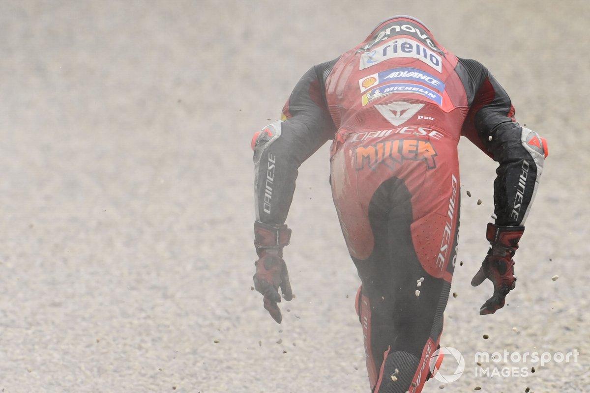 Caduta di Jack Miller, Ducati Team