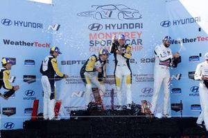 #4: Corvette Racing Corvette C8.R, GTLM: Tommy Milner, Nick Tandy #3: Corvette Racing Corvette C8.R, GTLM: Antonio Garcia, Jordan Taylor, #79: WeatherTech Racing Porsche 911 RSR - 19, GTLM: Cooper MacNeil, Matt Campbell