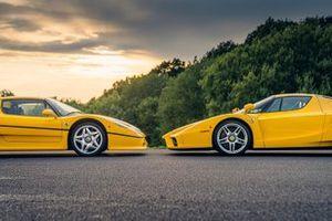 Ferrari F50 e Ferrari Enzo