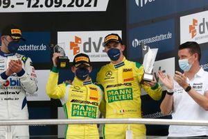 Podium: #70 Mann-Filter Team Landgraf-HTP WWR Mercedes-AMG GT3 Evo: Raffaele Marciello, Maximilian Buhk