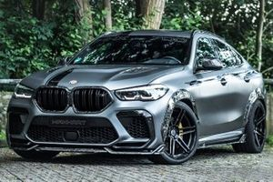 BMW X6 M Competition By Manhart