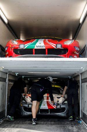 #51 AF Corse Ferrari 488 GTE EVO LMGTE Pro, Alessandro Pier Guidi, James Calado, Come Ledogar, #54 AF Corse Ferrari 488 GTE EVO LMGTE Am, Thomas Flohr, Giancarlo Fisichella, Francesco Castellacci