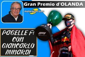 Cover Pagelle F1: GP d'Olanda