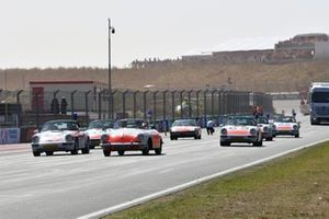 Desfile de demostración de Porsche