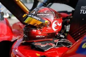 #34 Racing Team Turkey Oreca 07 - Gibson LMP2, Salih Yoluc, helmet