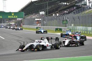 Amaury Cordeel, Campos Racing and Oliver Rasmussen, HWA RACELAB