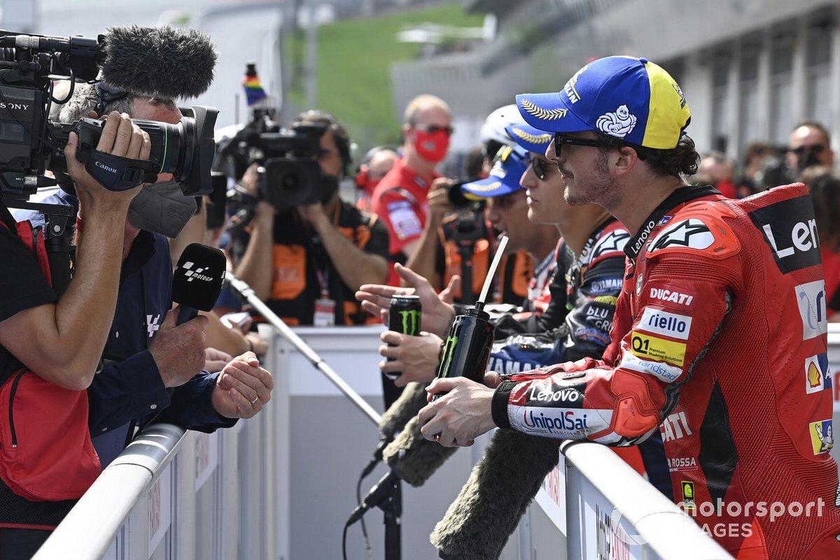 Tercer puesto Francesco Bagnaia, Ducati Team