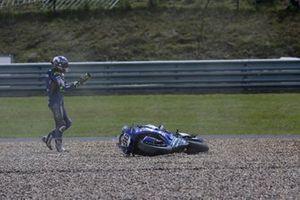 Crash, Karel Hanika, IXS-YART Yamaha