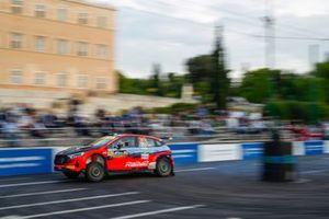 Oliver Solberg, Aaron Johnston, Hyundai Motorsport Hyundai i20 N Rally2