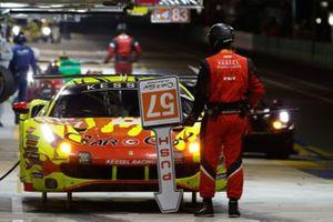 #57 Kessel Racing Ferrari 488 GTE EVO LMGTE Am, Takeshi Kimura, Scott Andrews, Mikkel Jensen