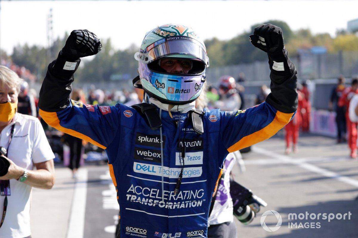 Monza: Daniel Ricciardo (McLaren)