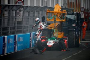 Rene Rast, Audi Sport ABT Schaeffler tras su accidente