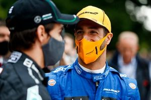 Esteban Gutierrez and Daniel Ricciardo, McLaren