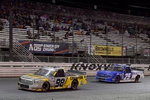 Grant Enfinger, ThorSport Racing, Toyota Tundra Champion / Curb Records and Josh Berry, Rackley W.A.R., Chevrolet Silverado Rackley Roofing