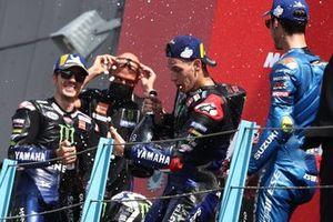 Maverick Vinales, Yamaha Factory Racing Fabio Quartararo, Yamaha Factory Racing Joan Mir, Team Suzuki MotoGP