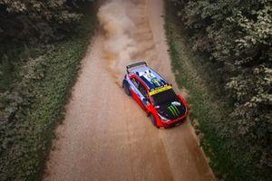 Oliver Solberg, Aaron Johnston, Hyundai Motorsport N Hyundai NG i20