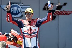 Race winner Fabio di Giannantonio, Federal Oil Gresini Moto2