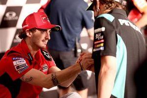 Francesco Bagnaia, Ducati Team, Valentino Rossi, Petronas Yamaha SRT