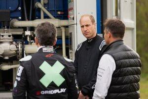 Alejandro Agag, CEO, Extreme E, e Sua Altezza Reale il Principe William, Duca di Cambridge