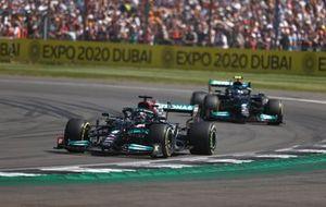 Lewis Hamilton, Mercedes W12, Valtteri Bottas, Mercedes W12