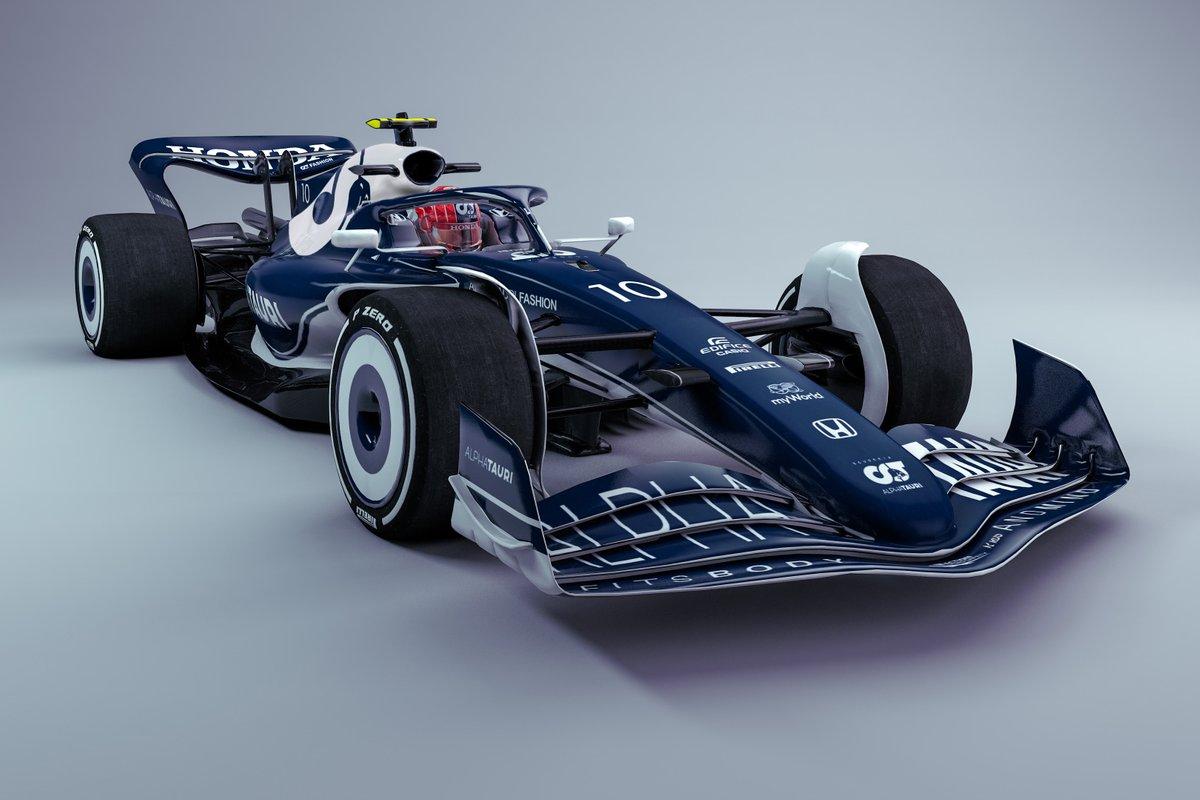 AlphaTauri 2022 F1 car