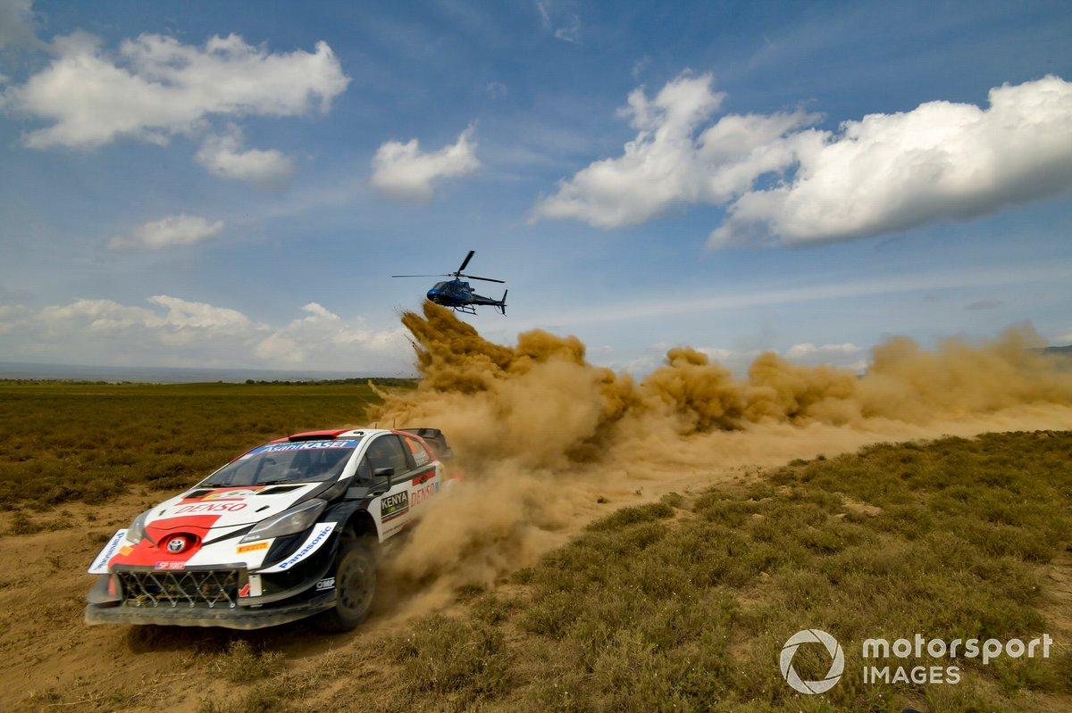 Takamoto Katsuta, Daniel Barritt, Toyota Gazoo Racing WRT Toyota Yaris WRC