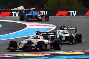 Amaury Cordeel, Campos Racing, Pierre-Louis Chovet, Campos Racing, Johnathan Hoggard, Jenzer Motorsport
