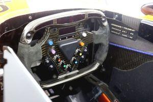 Arrows A21 steering wheel