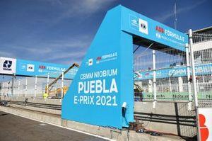 Puebla E Prix track general view, Mexico