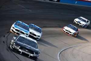Aric Almirola, Stewart-Haas Racing, Ford Mustang Smithfield, Matt DiBenedetto, Wood Brothers Racing, Ford Mustang Quick Lane Tire & Auto Center, Chris Buescher, Roush Fenway Racing, Ford Mustang Fastenal